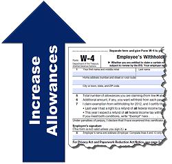 increase allowances