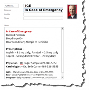 How ICE can save your life