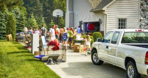 how to be successful with your garage sale