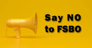 say no to fsbo
