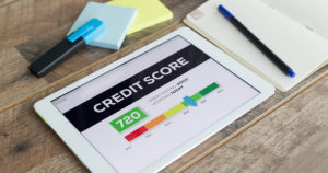 your credit score and getting a mortgage